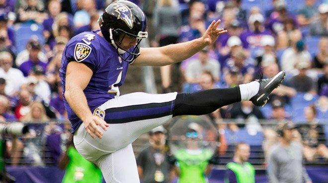 Baltimore, Ravens. Foto: Sam Koch/Twitter @Ravens
