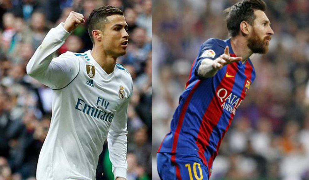 Real Madrid recibe al Barcelona en La Liga Santander. Foto: Cristiano Ronaldo/Twitter @realmadrid - Messi / Twitter @FCBarcelona_es