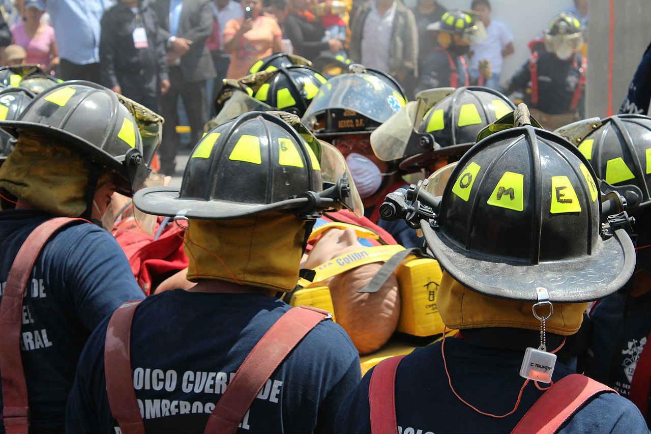 Incendios en Querétaro. Foto: Bomberos/Flickr