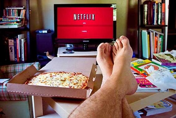 El primero de enero es el día que más se ve Netflix en el mundo.