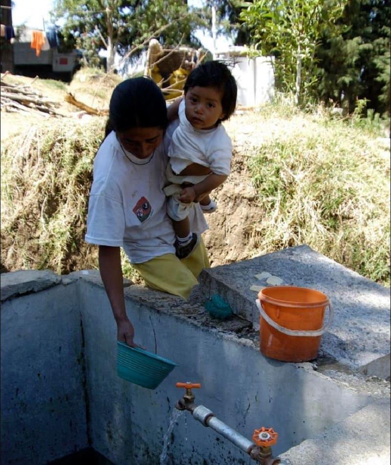 Por más de un mes ha escaseado el vital líquido en la delegación Azcapotzalco y municipios conurbados.