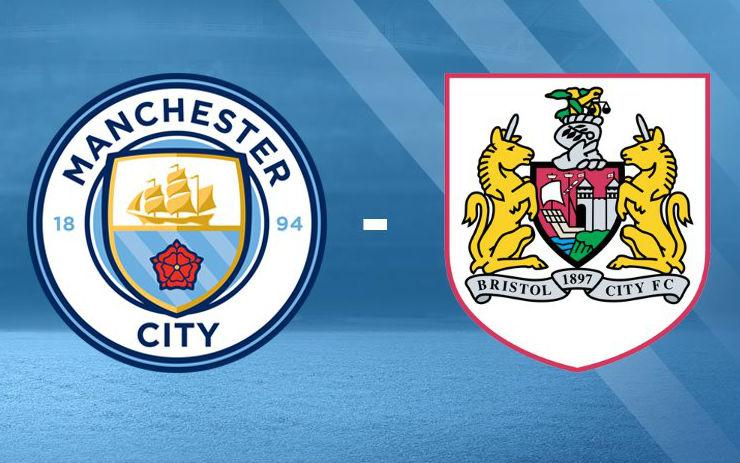 Manchester City vs Bristol City/Twitter @ManCity