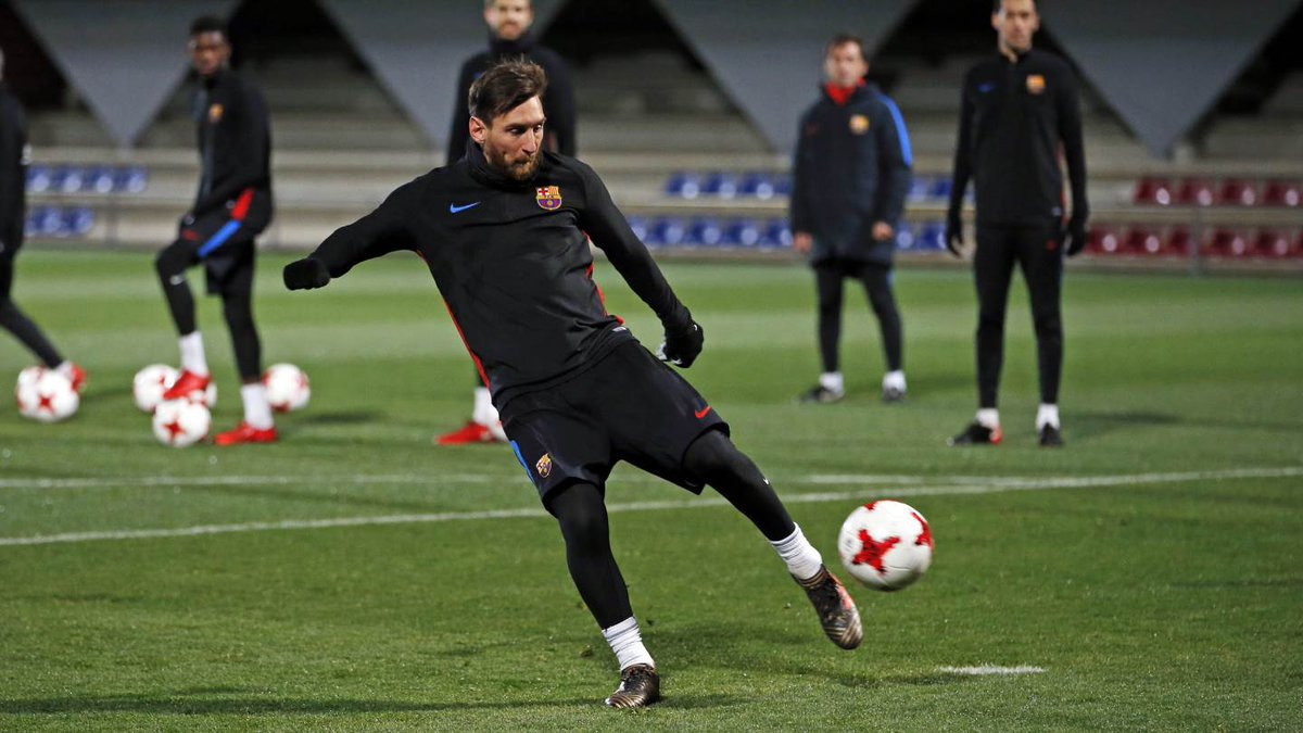 Barcelona. Foto: Messi/Twitter @FCBarcelona