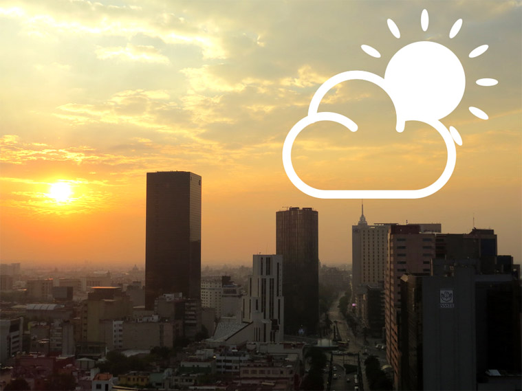 Pronóstico del clima CDMX, Servicio Meteorológico Nacional