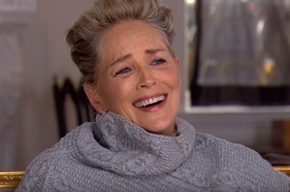 Sharon Stone es cuestionada sobre abusos sexuales en Hollywood y suelta una carcajada