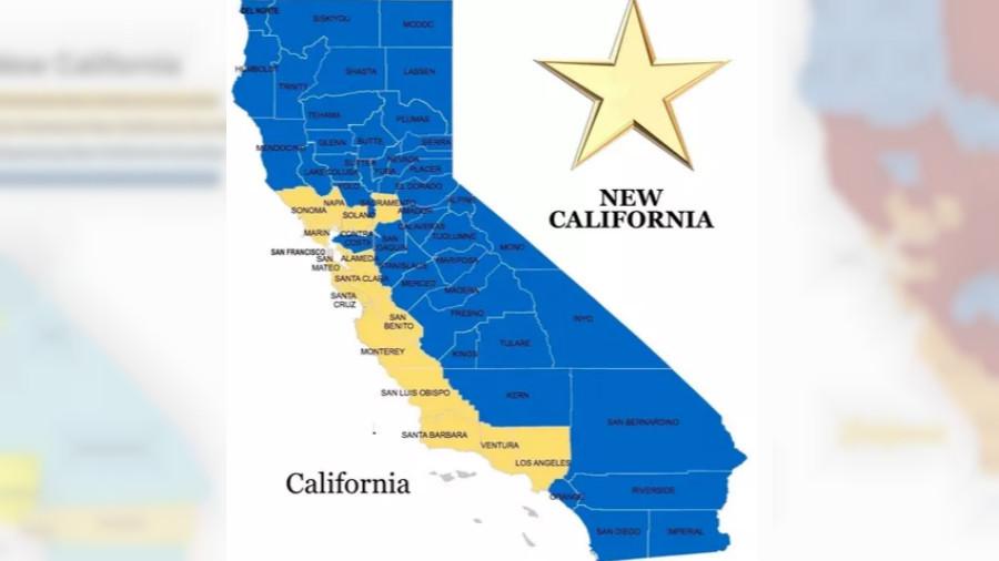 Nueva California (New California) declara su independencia del resto del estado
