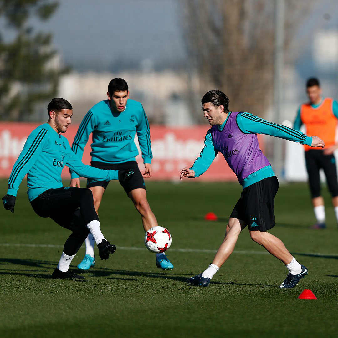 Real Madrid. Foto: Entrenamiento Real Madrid/Twitter @realmadrid