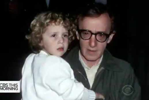 Dylan Farrow habla por primera vez en TV habla sobre los abusos de su padre Woody Allen