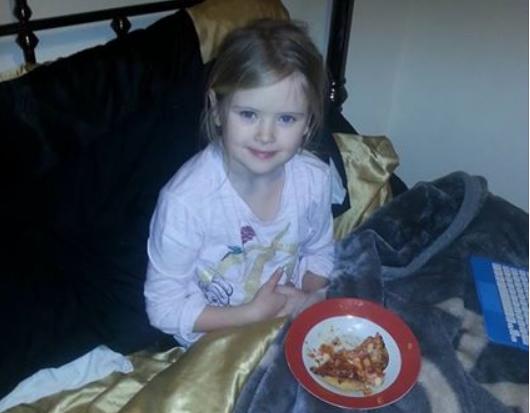 Bill Billingham subió una foto de su hija, 15 minutos antes de asesinarla. Foto: Facebook