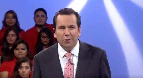 PRD busca que Lalo Salazar sea su candidato como gobernador de la delegación Coyoacán. Foto: Twitter / Mexiquense TV