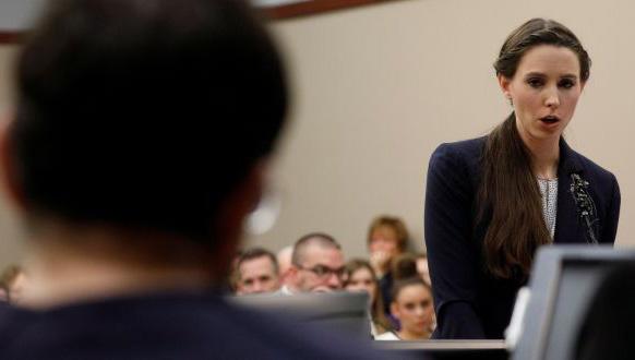 Rachel Denhollander fue la primera en generar una denuncia penal en contra de Larry Nassar en 2016.