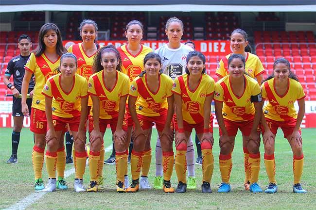 Monarcas. Foto: Monarcas Femenil/Liga Mx Femenil