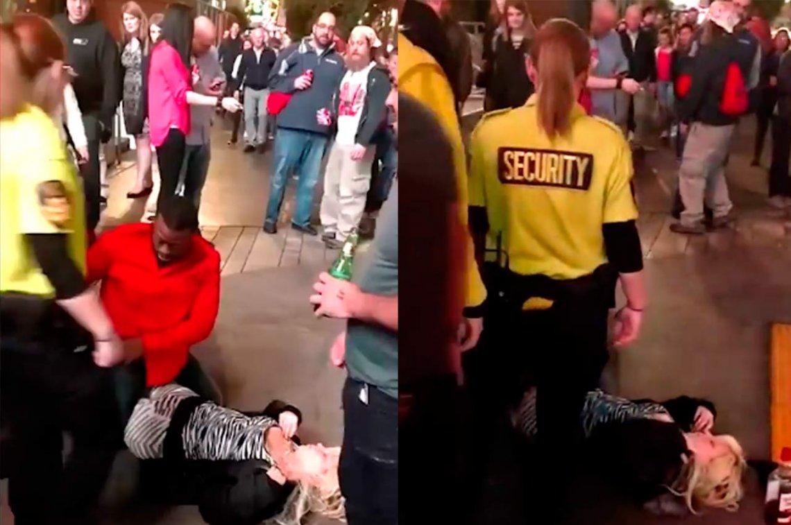 Hombre abusa sexualmente de una mujer
