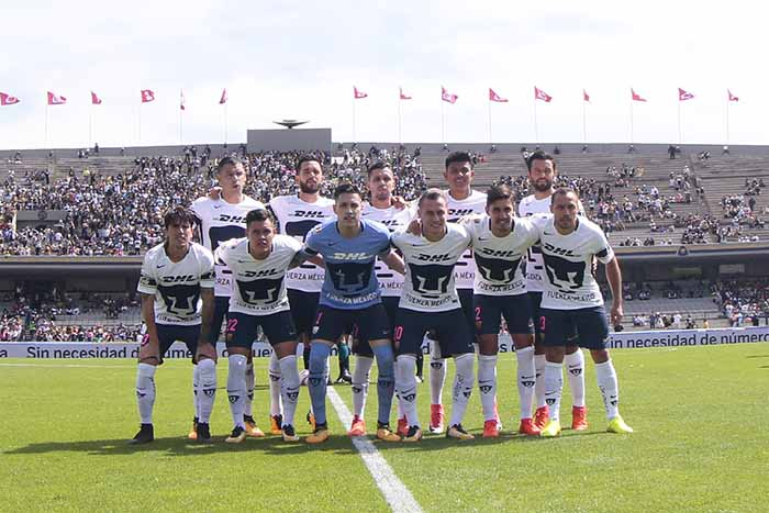 Pumas. Foto: Pumas/Liga Mx