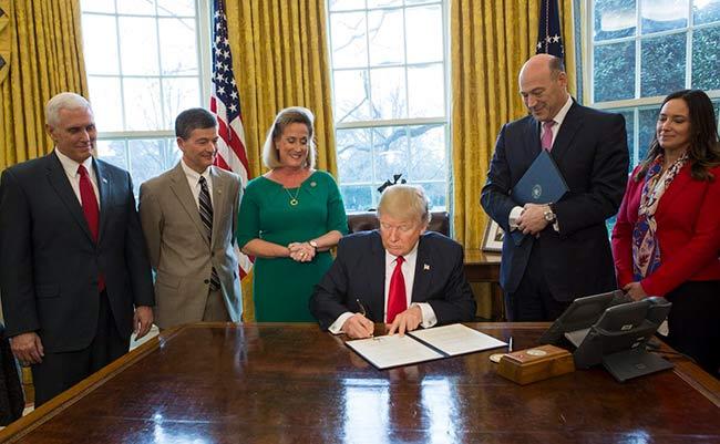La reforma fiscal de Trump apunta a una menor intervención del Estado en el desempeño de los mercados