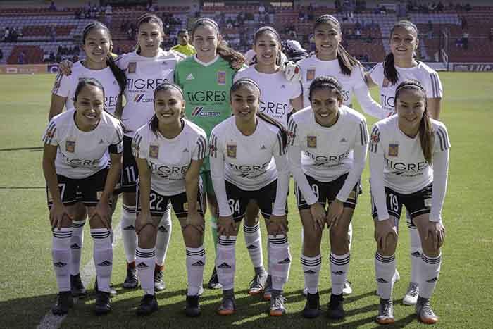 Tigres Femenil. Foto: Tigres/Liga Mx Femenil