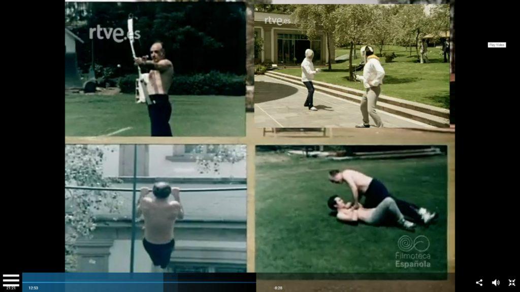 El video es parte de un documental que muestra una faceta desconocida del ex presidente López Portillo