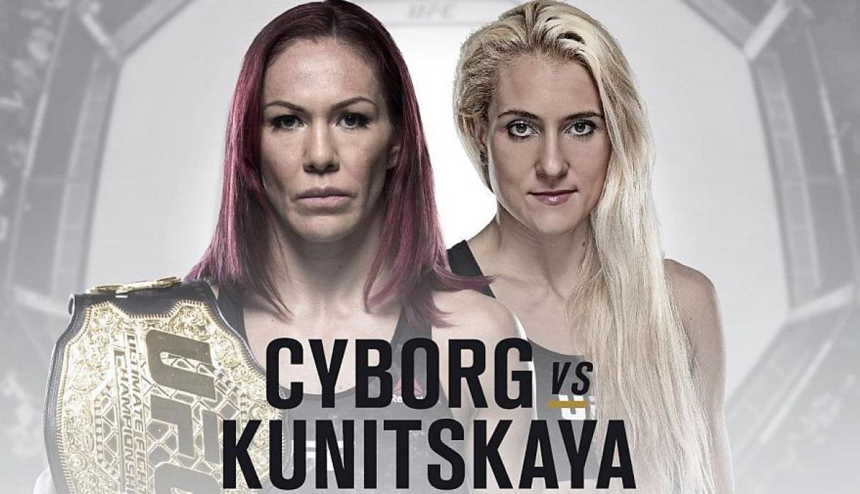 Cyborg vs Kunitskaya