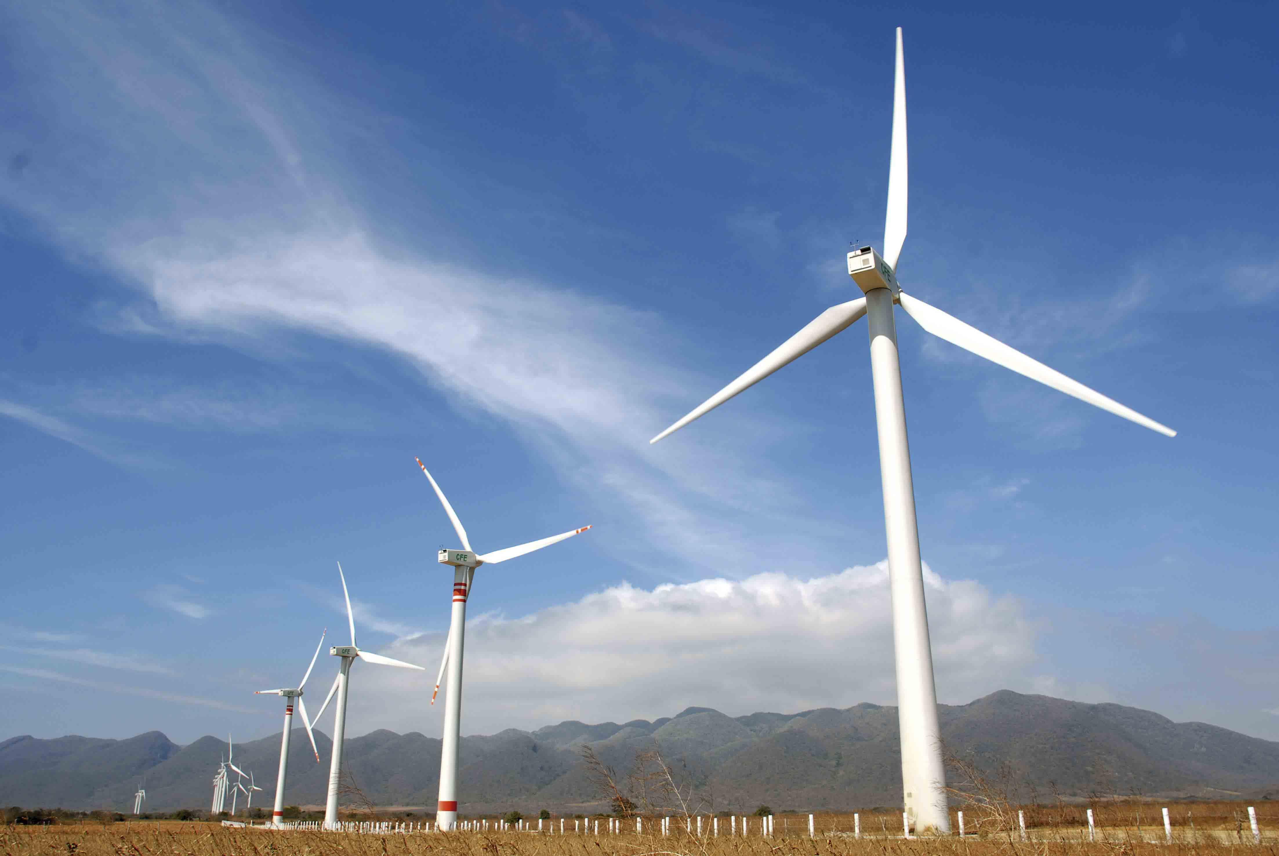 La infraestructura eólica creció 300 % en el país, según indicó el Secretario de Energía. (Foto: Secretaría de Energía)