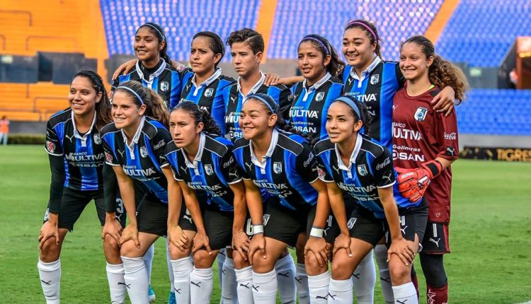 Querétaro vs Monterrey Liga Mx Femenil