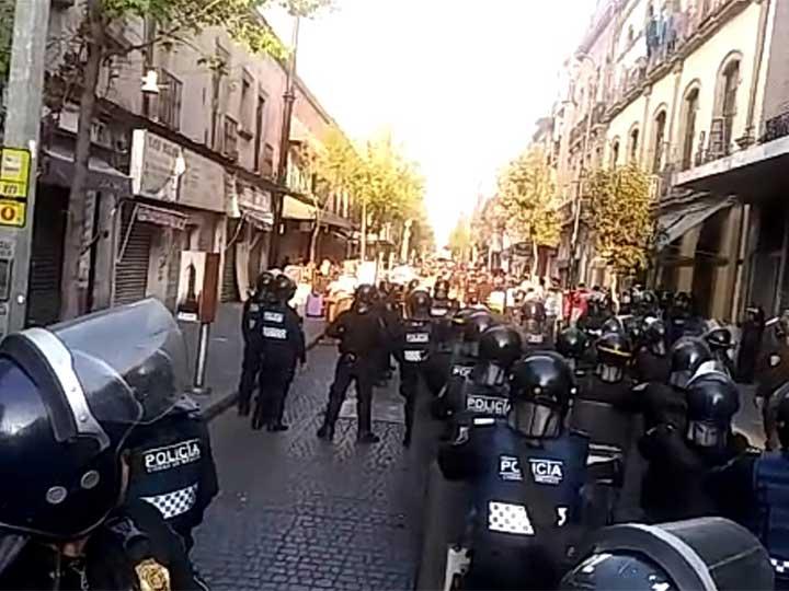 Foto: Desalojo República de Uruguay/Excelsior