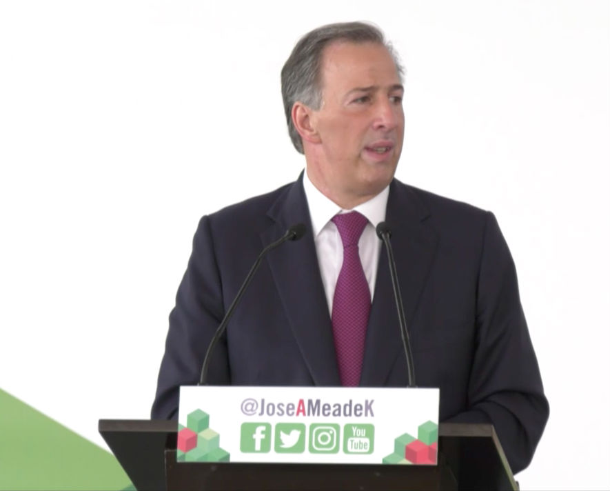 Foto: Jose Antonio Meade/ Video de Twitter @JoseAMeadeK