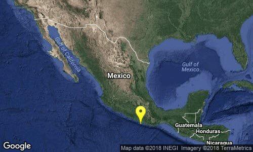 Foto: Se reporta sismo en Pinotepa Nacional, Oaxaca/Twitter @SSNMexico