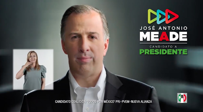 Foto: Jose Antonio Meade Kuribeña /Video Facebook