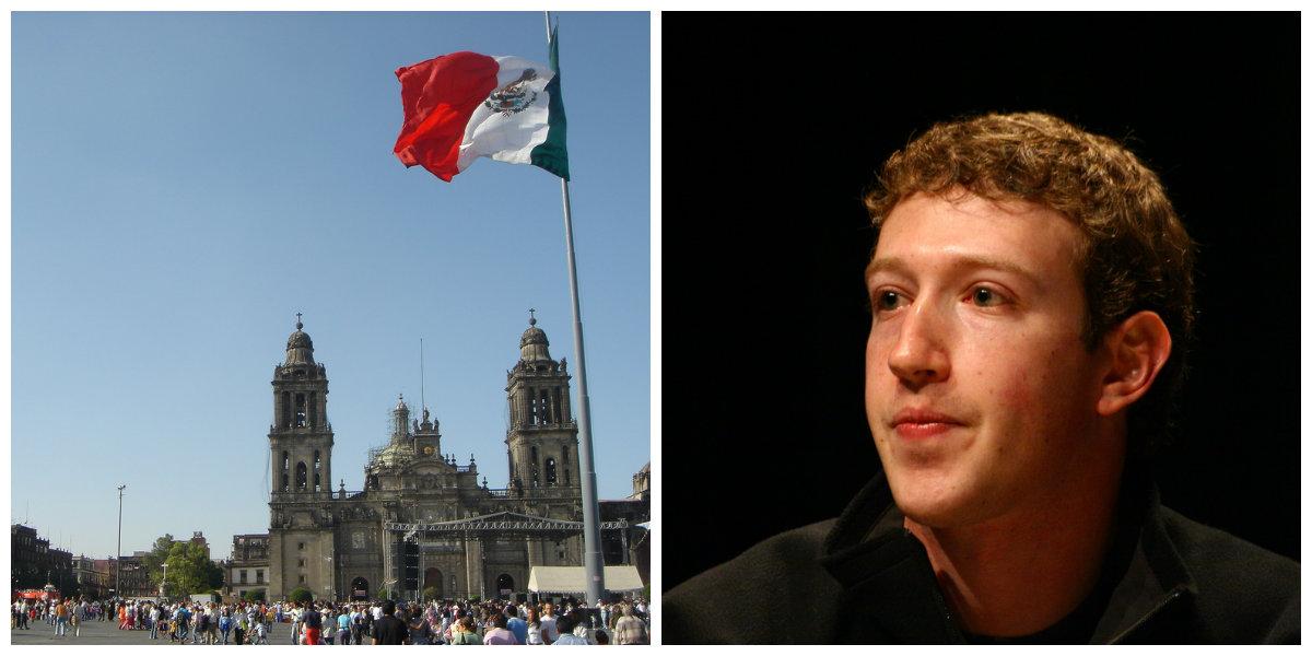 Facebook afecta a México/ Fuente: Flickr