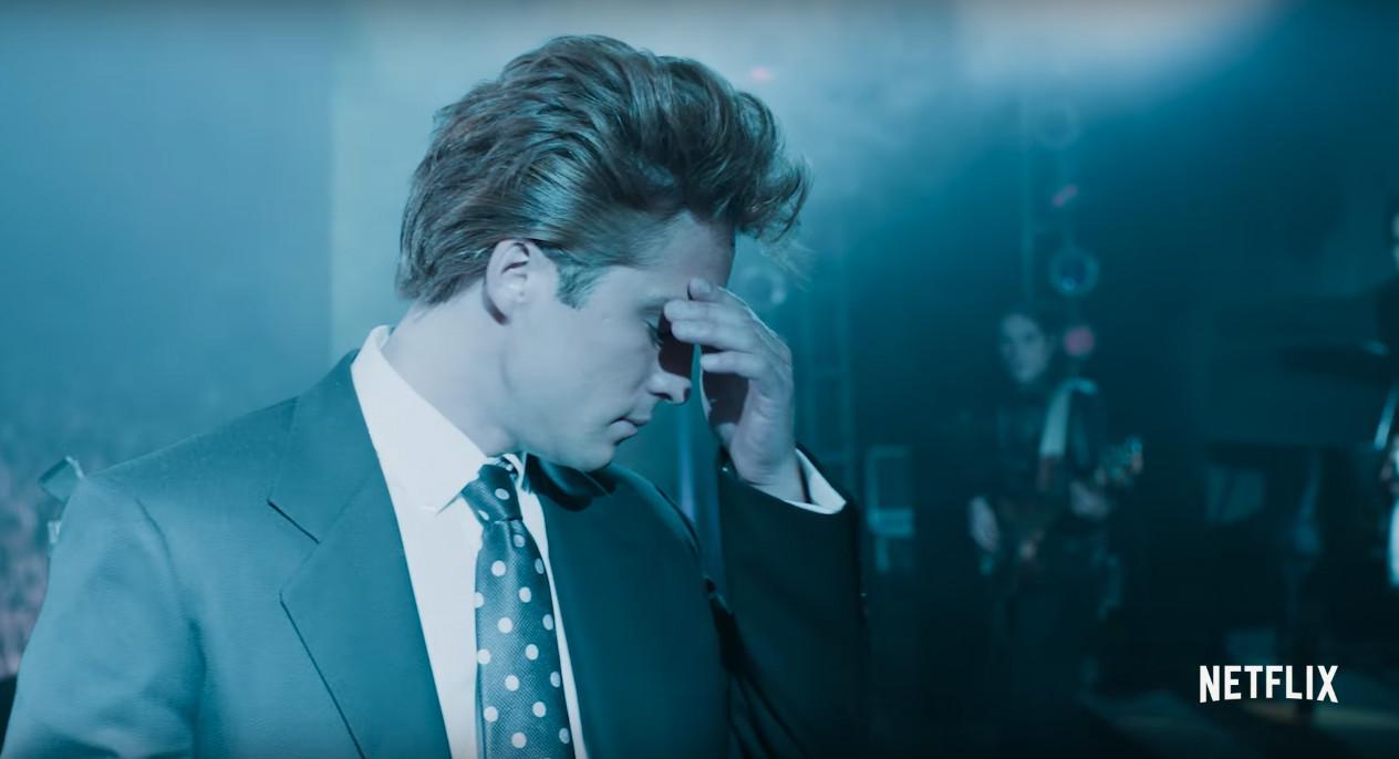 Foto: Diego Boneta como Luis Miguel / Captura de pantalla