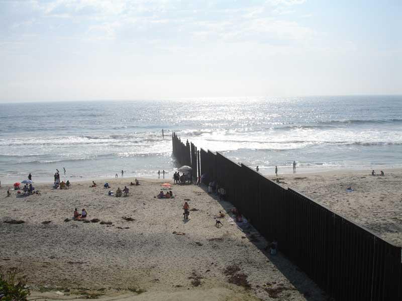 Frontera México-EU/ Fuente: Wikimedia Commons