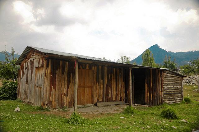 Casa en Zinancantán, Chiapas. Foto: Eduardo Robles Pacheco / algunos derechos reservados.