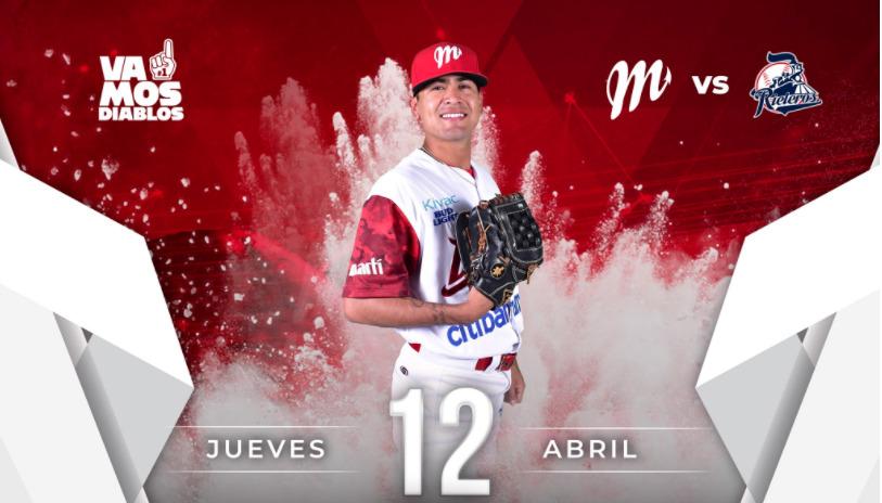 Foto: Diablos Rojos de México / Twitter @DiablosRojosMX