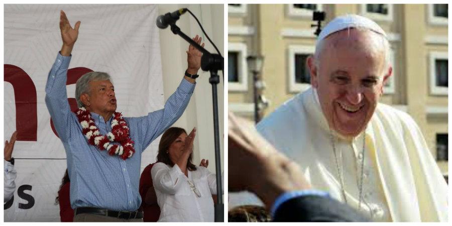 AMLO invitará al Papa/Fuente: Twitter-Pixabay