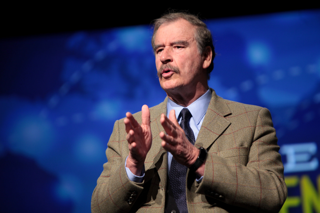 Vicente Fox/Fuente: Flickr