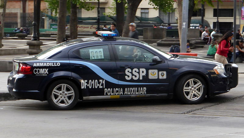 Operativo SSPCDMX/Fuente: Wikimedia Commons