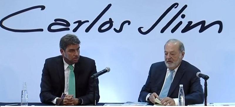 En conferencia de prensa el empresario Carlos Slim propuso un proyecto para aprovechar los terrenos que dejará el actual aeropuerto.