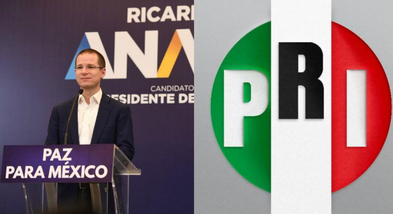 Fuente: Twitter @PRI_Nacional / @RicardoAnayaC