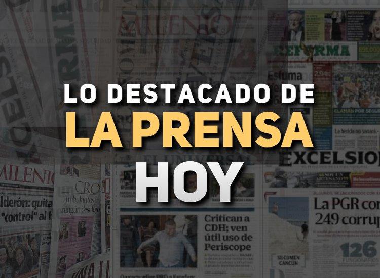 Arena Pública trae para ti las noticias de México hoy 9 de mayo.