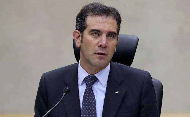 Consejero presidente del INE, Lorenzo Córdova.
