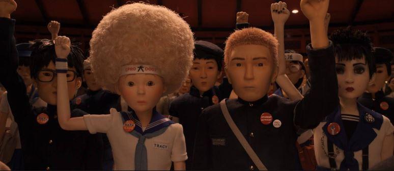 Una de las lecciones de la película Isla de Perros es la importancia de las protestas estudiantiles.