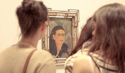 La Fridomanía lleva más de 40 años desde que el Museo de Arte Contemporáneo de Chicago realizó una exposición en 1978 con su trabajo en medio de la revolución feminista.