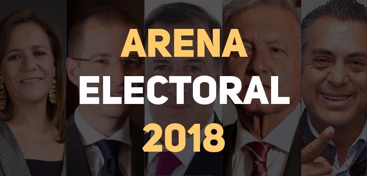 Resultados de las encuestas presidenciales 2018 este 4 de junio.