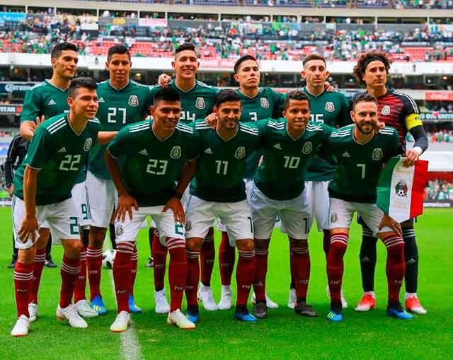 Si en el partido México contra Suecia ganan los mexicanos el PRI no le parecerá tan mal partido político a más de un elector. Foto: Twitter de la Selección Mexicana de Futbol.