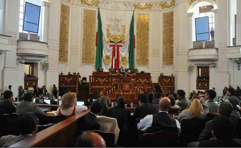 Asamblea Legislativa de la CDMX Fuente: Flikr