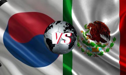 México y Corea del Sur, se verán este sábado 23 de junio a las 10 de la mañana.