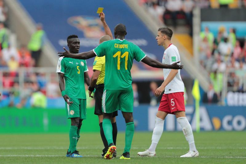 Selección de Senegal fuera del mundial por acumulación de faltas Foto: @SenegalFootball