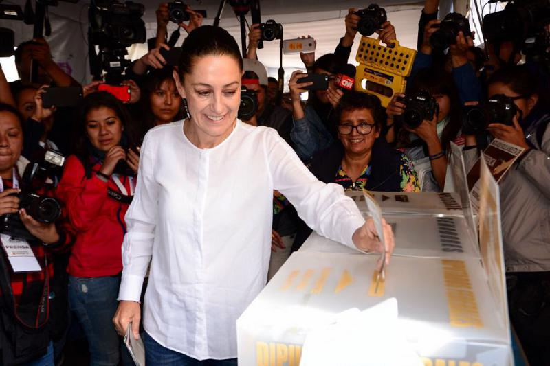 Candidata a Jefatura de Gobierno Claudia Sheinbaum Foto: @Claudiashein