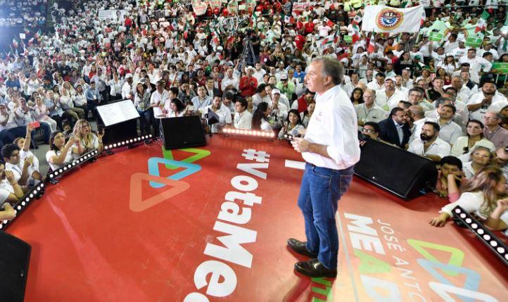 José Antonio Meade, candidato presidencial del PRI para la elección 2018.