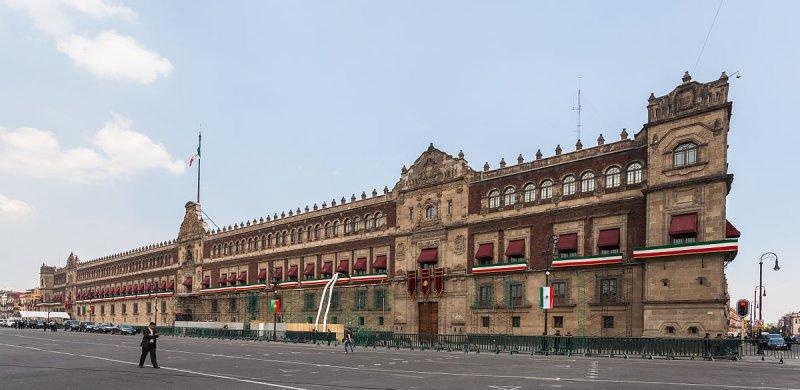 Fachada Palacio Nacional Foto: wikipedia.com